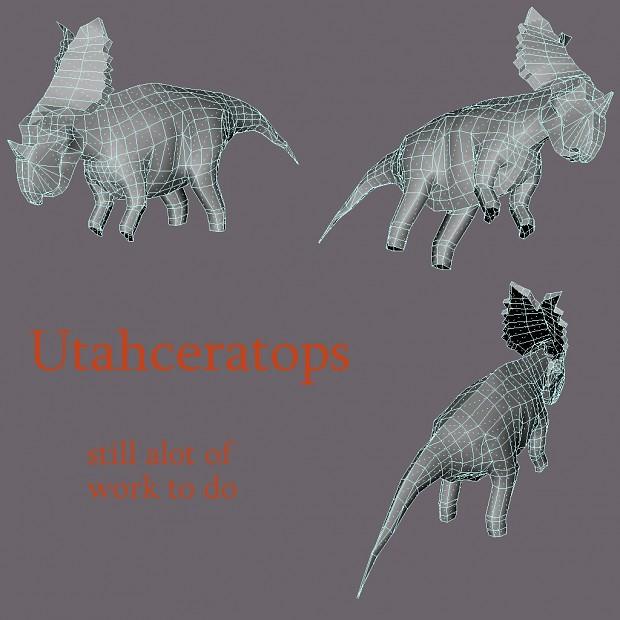 Utahceratops progress