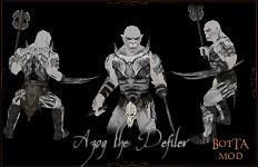 Azog in armor