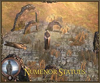 Numenor Statues