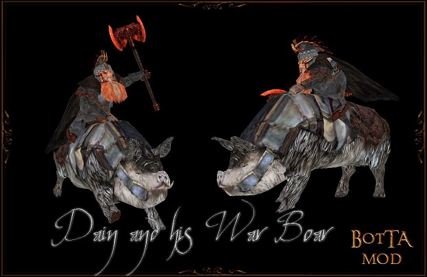 Dain with War boar