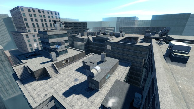 Rooftops upgrades [WIP], coming to Steam release!