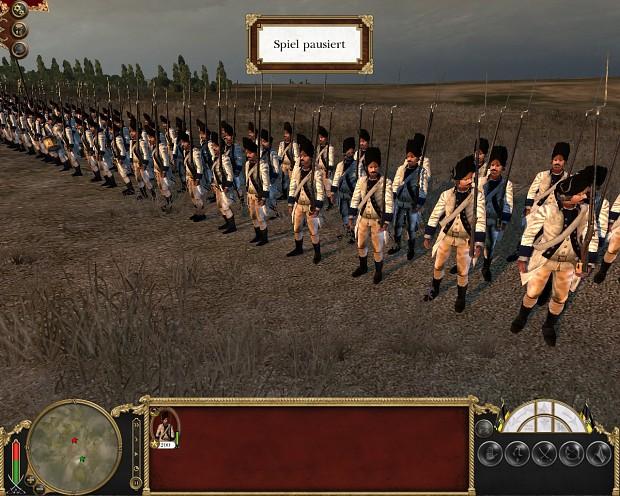 Late Saxon Army Line Grenadiers