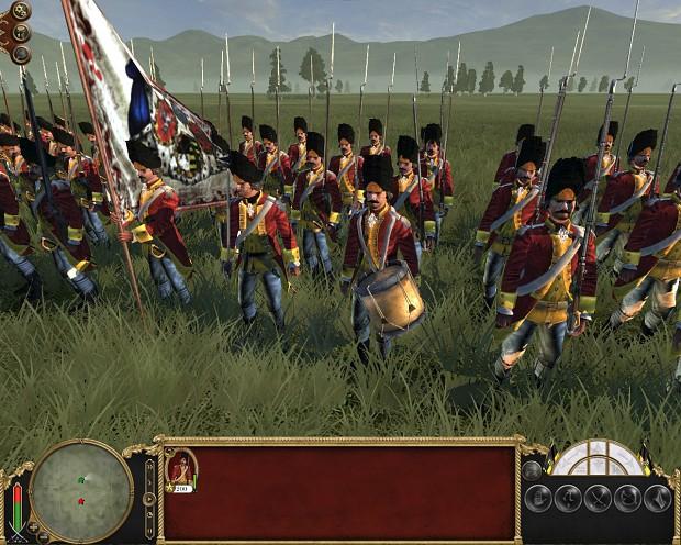 Late Saxon Army Garde Grenadiere