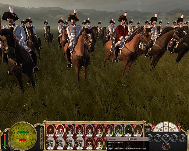 Saxon late Army Carabiniers