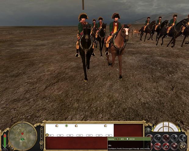 Saxon late Army Artillery