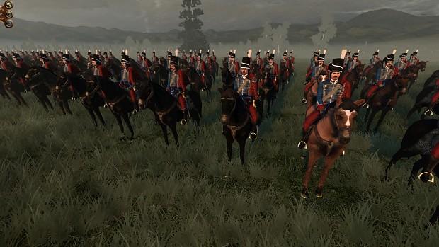 Danish light cavalry