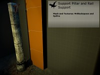 Pillar and Rail Support
