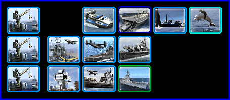 Allied Naval Unit Prerequisites