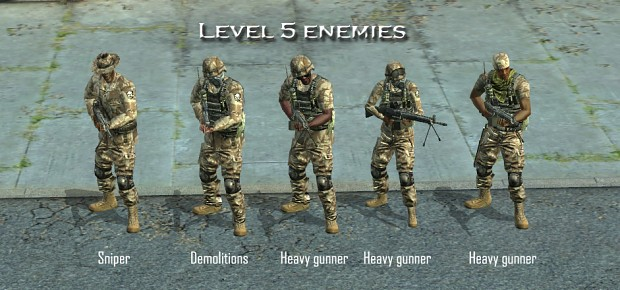 New enemy soldier templates 5 (not up-to-date)