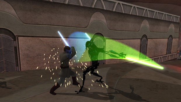 Kenobi vs Grievous 1 - gameplay screenshot