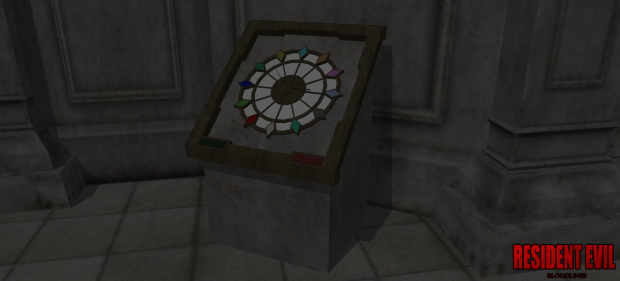 Raccoon City Hall Gem Clock Puzzle
