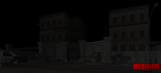 Raccoon City Hall WIP 08-24-13