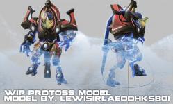 Protoss Enforcer WIP