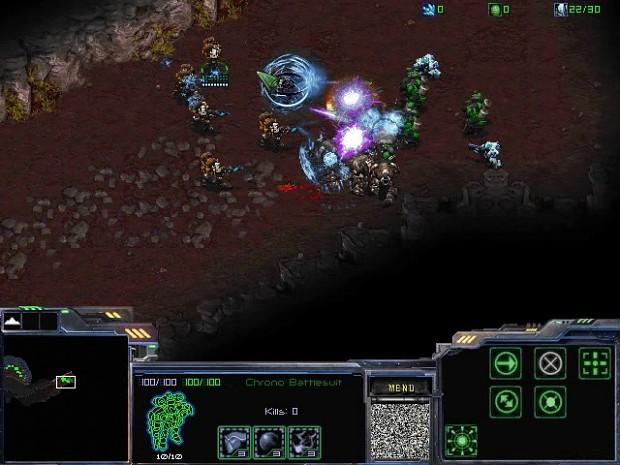 UED Chrono Battlesuit