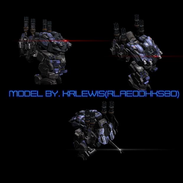 KMC Siege Mech revival, WIP