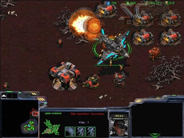 Dominion Devastator Gunship (WIP)