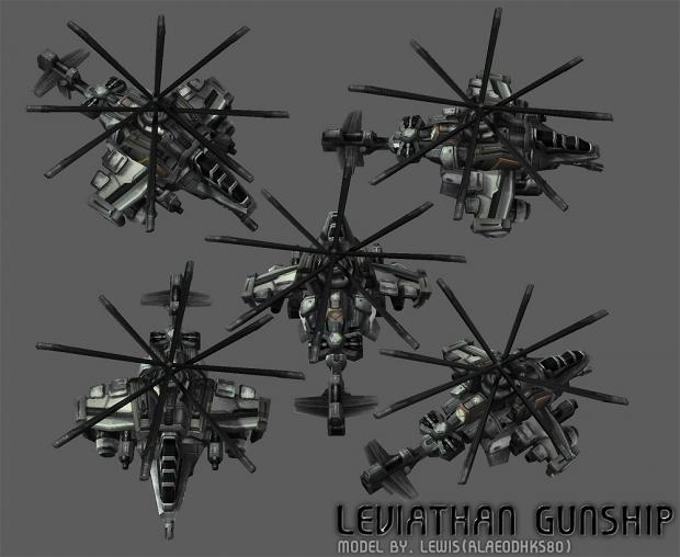 UED Leviathan WIP