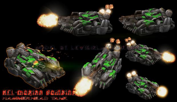 KMC Hammerhead Tank Complete.