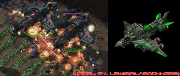 Dominion Strategic Bomber (support skill)