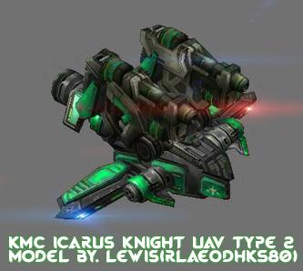 KMC Icarus Knight UAV Type 2