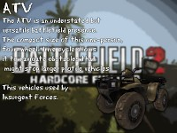 New Vehicles: ATV