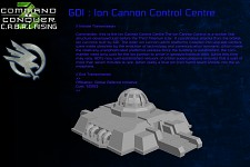 GDI Faction Ion Control Centre Intel