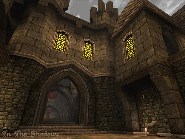 The Entrance to Baramous Keep