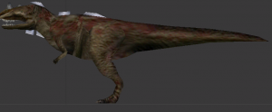Ceratosaurus Textured