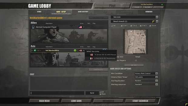New lobby UI art (Wehrmacht)
