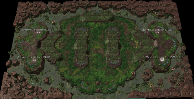 High Grove image - StormAndy's Melee Maps mod for Starcraft