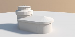 Guard House + Tower - Concept Model