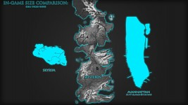 The Westeros Project - Map Size / Scale Comparison