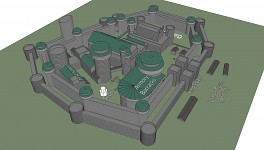 Winterfell Blueprint Early 02 - Concept Model
