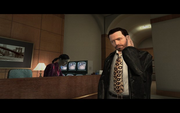 One of the new Max Payne models