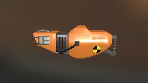 Aperture Quantum Tunneling Device Mark Iv Image - Repercussions Mod For Portal 2
