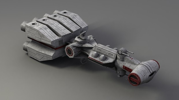 Corellian Corvette - CR90 Render