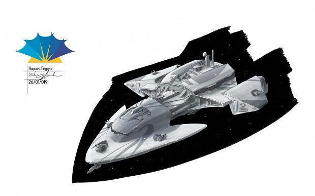 Hapan Flare-class Corvette