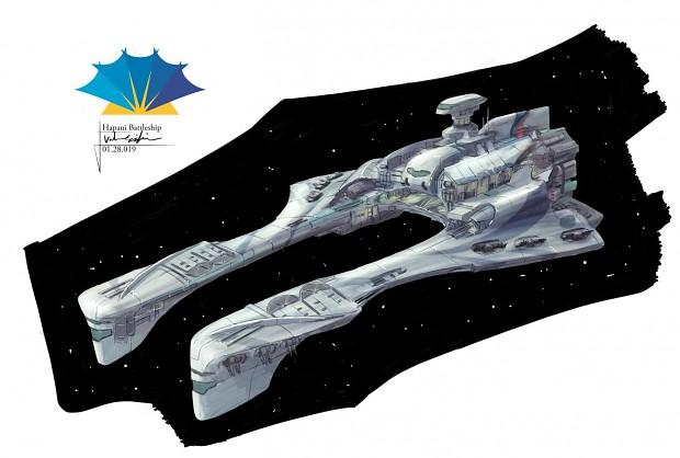 Hapan Magnetar-class Battle Dragon