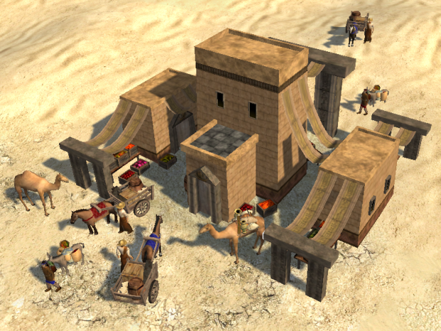 Egyptian Market in-game