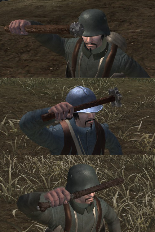 Trench Clubs In-Game