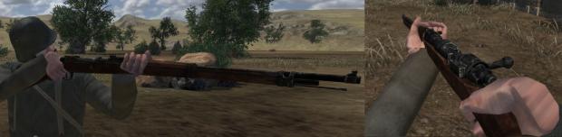 Gewehr 98 In-Game