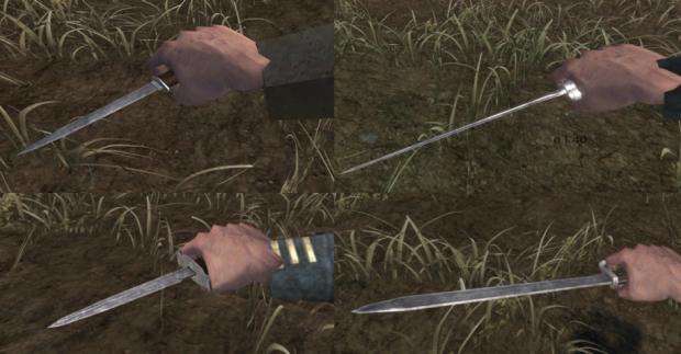 Knives & Bayonets In-Game