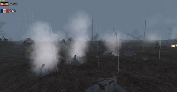 French Mortar Squad