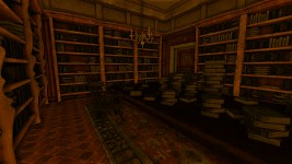 west wing library