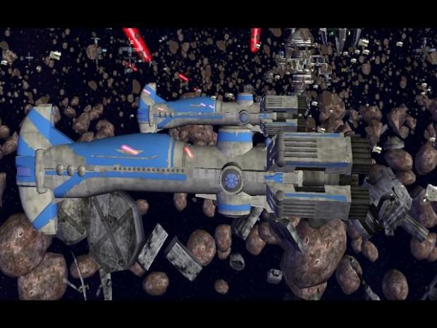 Thranta Warship