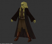 New Kit Fisto Robed model