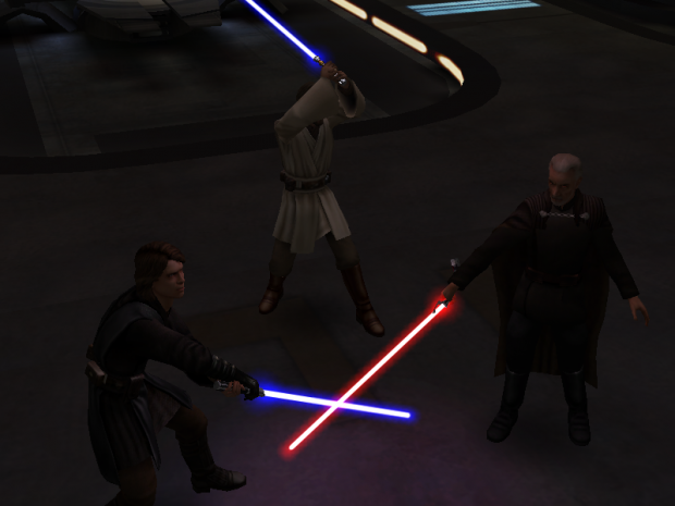 Episode III Battle Over Coruscant