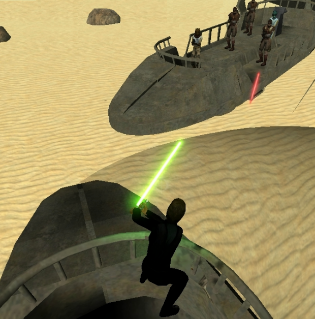 Episode VI Sarlacc Battle