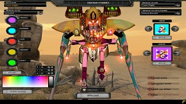 "Webway Titan ""Carnival"" Pattern"