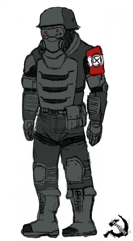 Enemy concept